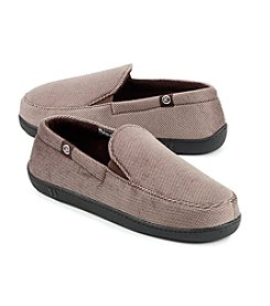 Isotoner Signature® Men's Corduroy Slip-On Slipper