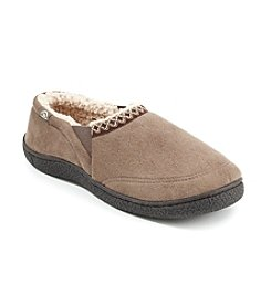 Isotoner Signature® Men's Microsuede Braid Slipper