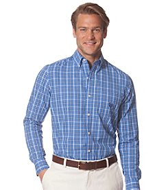 Chaps® Men's Long Sleeve Plaid Button Down
