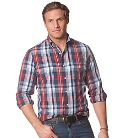 Chaps® Men's Long Sleeve Large Plaid Shirt