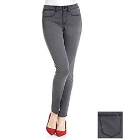 Suede Jean Leggings