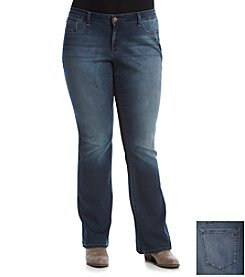 Jessica Simpson Plus Size Kiss Me Boot Cut Jeans