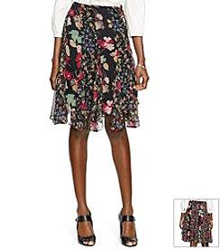 Lauren Ralph Lauren® Floral Georgette Skirt