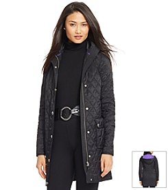 Lauren Ralph Lauren® Quilted Nylon Trench Coat