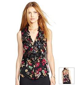 Lauren Ralph Lauren® Floral Georgette Top