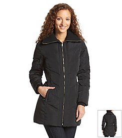 Cole Haan® Down Coat With Oversized Collar