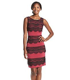 Sangria™ Tiered Lace Dress