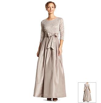 UPC 689886824582 - Jessica Howard® Lace Bodice Bow Waist Ball Gown ...