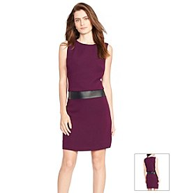 Lauren Ralph Lauren® Sleeveless Crepe Dress