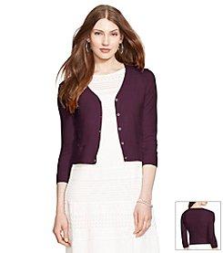 Lauren Ralph Lauren® Button Front Cardigan