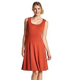 Nine West® Pleated Fit And Flare Dress