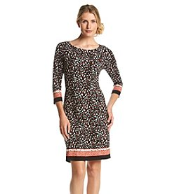 Nine West® Printed Shift Dress