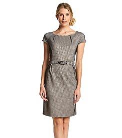 Nine West® Pleated Neck Dress