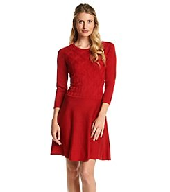 Nine West® Cable Knit Sweater Dress