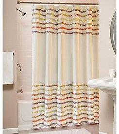 Greenland Home® Bella Ruffle Shower Curtain