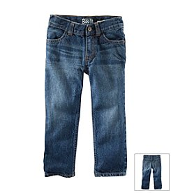 OshKosh B'Gosh® Boys' 4-7 Straight Jeans - Anchor Dark