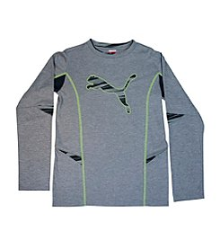 PUMA® Boys' 8-20 Long Sleeve Tech Tee