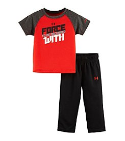 Under Armour® Baby Boys' 12-24 Month Force To Be Reckoned With Set