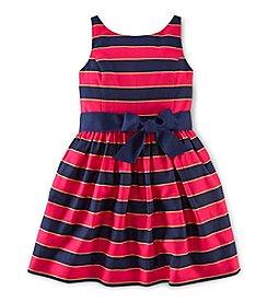 Ralph Lauren Childrenswear Girls' 7-16 Fit And Flare Dress