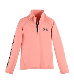 Under Armour® Girls' 4-6X Quarter Zip Pullover