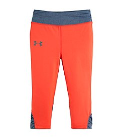 Under Armour® Girls' 4-6X Colorblock Leggings