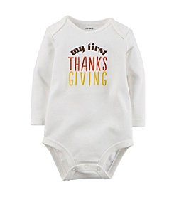Carter's® Baby 3-9M My First Thanksgiving Bodysuit