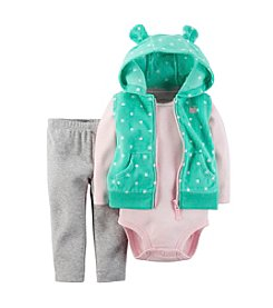 Carter's® Baby Girls' 3-24 Month 3-Piece Vest Set