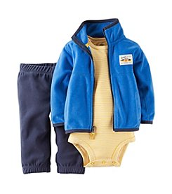 Carter's® Baby Boys' 3-24 Month 3-Piece Cardigan Set