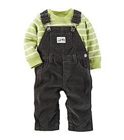 Carter's® Baby Boys' 0-24 Month Overall With Tee Set
