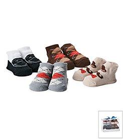Cuddle Bear® Baby Boys 4-Pack Argyle Dress Socks