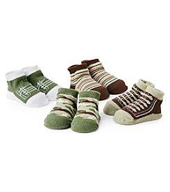 Cuddle Bear® Baby Boys 4-Pack Socks