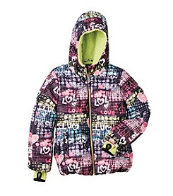 Hawke & Co. Girls' 7-16 Party Puffer Jacket