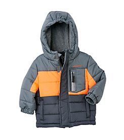 London Fog® Boys' 12M-20 Action Colorblock Puffer Jacket