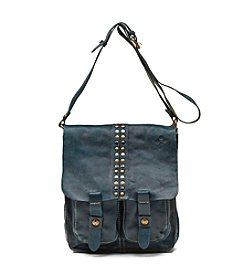 Patricia Nash Studded Washed Armeno Messenger Bag