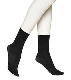 HUE® Opaque Anklet Socks