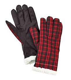 Ruff Hewn Buffalo Plaid Gloves