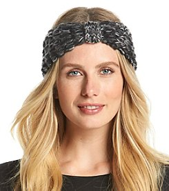 Relativity® Marled Tuckstitch Headwrap