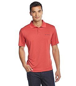 Columbia Men's Short Sleeve Utilizer Stripe Polo
