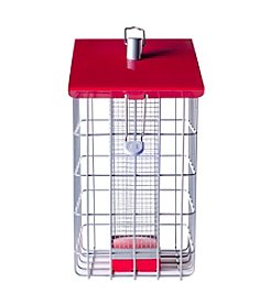 The Nuttery Geohouse Squirrel-Resistant Peanut & Sunflower Seed Bird Feeder