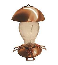 Gardman® Copper Glass Hummingbird Feeder