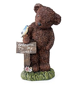 Kelkay Welcome Bear Garden Statue