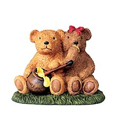 Kelkay Honey Pot Bears Garden Statue