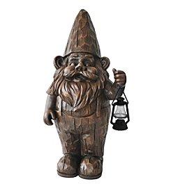 Kelkay Woodland Lantern Gnome Garden Statue