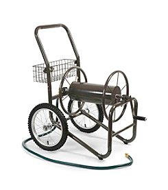 Liberty Garden 2-Wheel Bronze Hose Cart