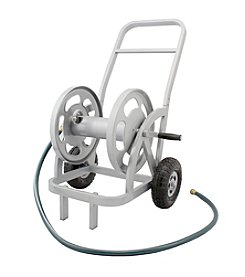 Liberty Garden 2-Wheel Gray Hose Cart
