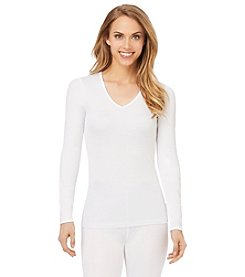 Cuddl Duds® Softwear Lace Long Sleeve Top