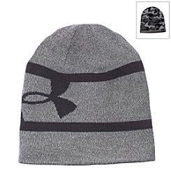 Under Armour® Men's 2-Way Camo Reversible Beanie