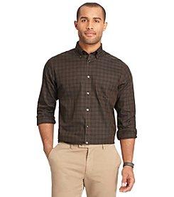 Van Heusen® Men's Big & Tall Long Sleeve No Iron Plaid Button Down Shirt