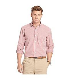 Izod® Men's Long Sleeve Gingham Button Down