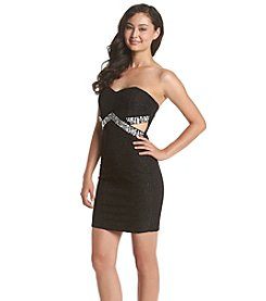 Trixxi® Cutout Tube Dress